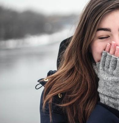 keep warm in winter