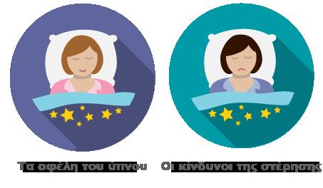 Τα οφέλη του ύπνου